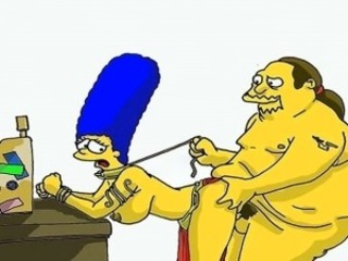 Simpsons making love parody