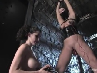 Spicy Brook Scott has Undressed And Tortured nearly Elec