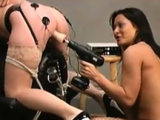 Slave Maltreated By A Equipment
