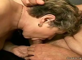 Venerable man fucks a hot young light-complexioned