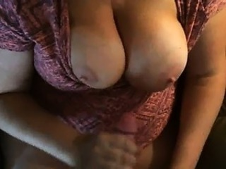 Amateur Big Tits Chubby Handjob Homemade Natural Nipples Wife