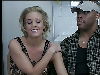 Trinity Blond Amateur Nailed By Rough Black Cock