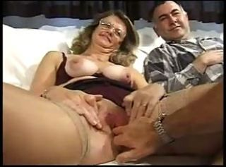Hot british mature fucked in all holes by two cocks _: anal hardcore matures threesomes