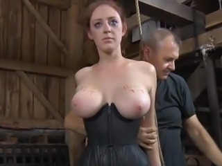 Hot torment for Cute slaves