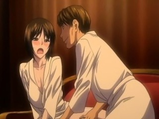 Hentai girl gets her ass fingered and fucked from behind