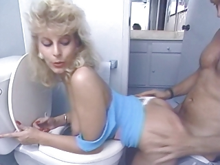 Amazing Cute Doggystyle Hardcore  Pornstar Toilet Vintage