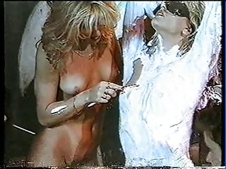 femdom with an increment of lesbian shaving
