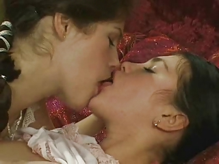 Cute Fantasy Kissing Lesbian Russian Teen Vintage