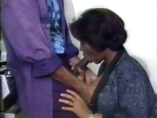 Blowjob Ebony Mature Vintage