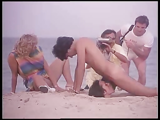 Beach Blowjob Funny Outdoor Vintage