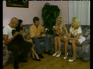 Amazing Drunk European German Groupsex  Swingers Vintage