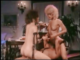 Facesitting  Pornstar Threesome Vintage