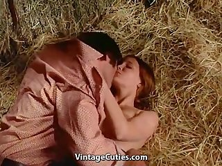 Erotic Farm Kissing Vintage