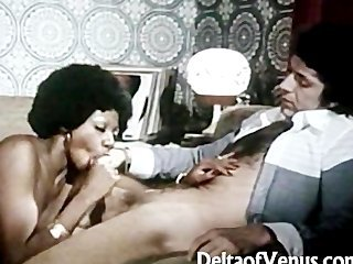 Mamada Negreta Interracial  Vintage