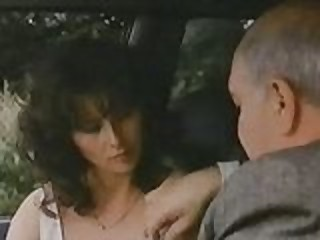 Old Man With Hooker In Car 1