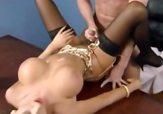Big Tits Cumshot  Pornstar Stockings Vintage
