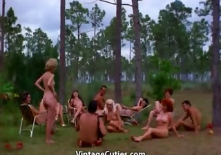Nudist Outdoor Swingers Vintage