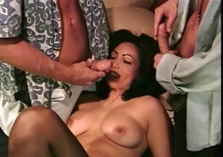 Brunette Mature Threesome Vintage