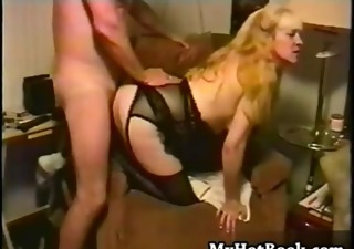 Amateur  Blonde Doggystyle Lingerie Mature Vintage
