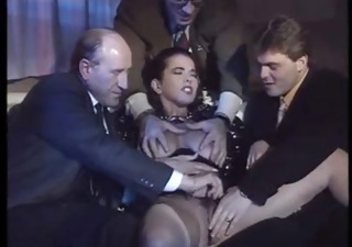 Cute Daddy European Gangbang Italian  Old and Young Pornstar Vintage