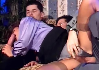 Blowjob Clothed European Hairy Hardcore Italian  Stockings Threesome Vintage