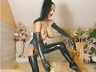 Fetish Latex Piercing Vintage