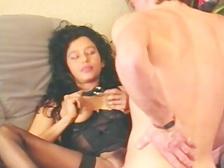 Brunette Hardcore Lingerie  Pornstar Stockings Vintage