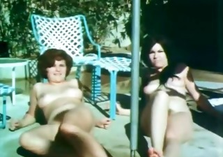 Amateur Hairy Nudist Outdoor Pool Teen Vintage