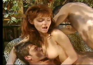 Anal Double Penetration Hardcore  Pornstar Redhead Threesome Vintage