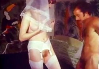 Bride Hairy Stockings Vintage