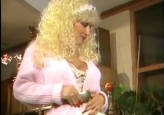 Blonde European French Maid  Vintage