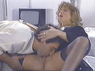 Clothed Licking  Pornstar Stockings Vintage