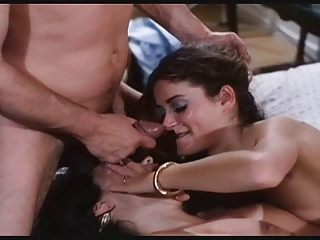 Cumshot Facial Threesome Vintage