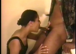Blowjob Ebony Vintage