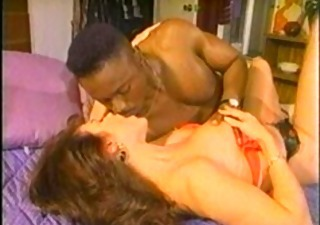 Interracial Kissing  Vintage