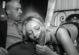 Amazing  Blowjob European Italian  Vintage Wife