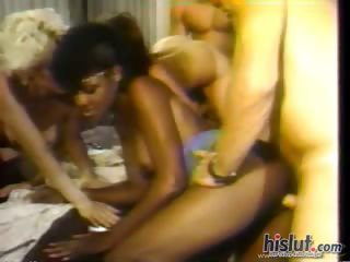 Ebony Groupsex Hardcore Interracial Orgy Vintage
