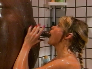 Bathroom Blowjob Interracial Vintage