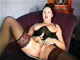 Lingerie Masturbating  Pussy Stockings Vintage