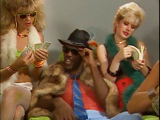 Amazing Cash Fetish Interracial  Pornstar Threesome Vintage