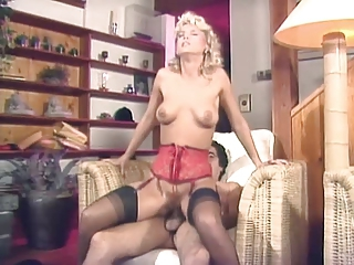 Lingerie  Pornstar Riding Stockings Vintage