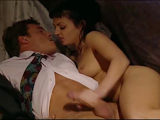 Brunette European French Handjob  Vintage