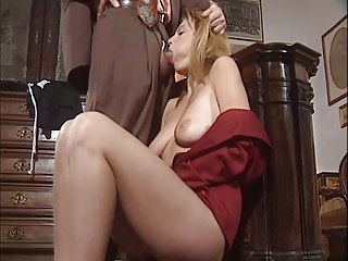 Amazing Blowjob European French  Pornstar Vintage