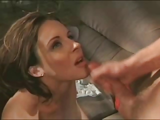 Amazing Cumshot Cute MILF Swallow Vintage