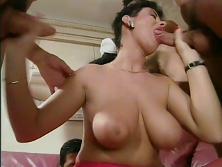 Big Tits Blowjob European French Gangbang  Natural Pornstar Vintage