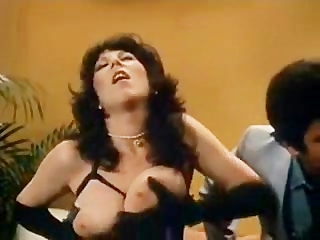 Young Ron Jeremy fucks in retro movie..