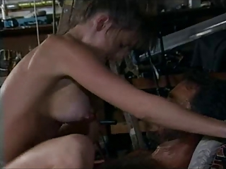 Hardcore  Pornstar Riding Vintage