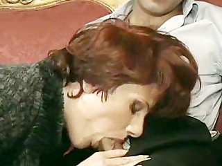 Horny Mom Loves To Taste A Cock