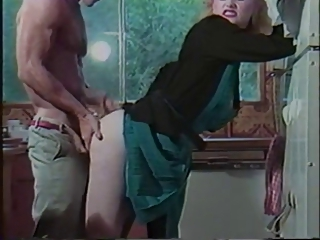 Vintage slut takes it from behind