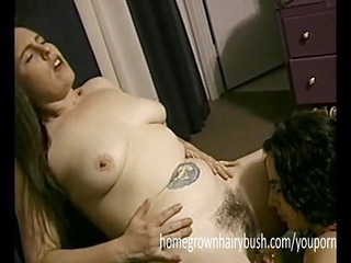 homegrownhairybushs brunettes have enjoyment